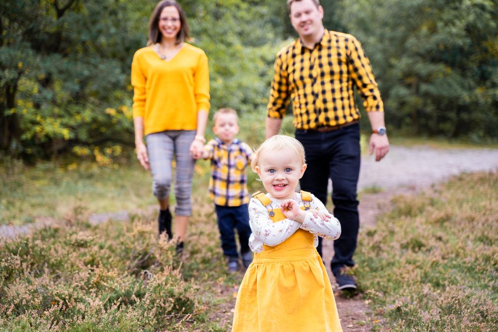 Herbstliches Familienshooting in den Sanddünen Lilienthal