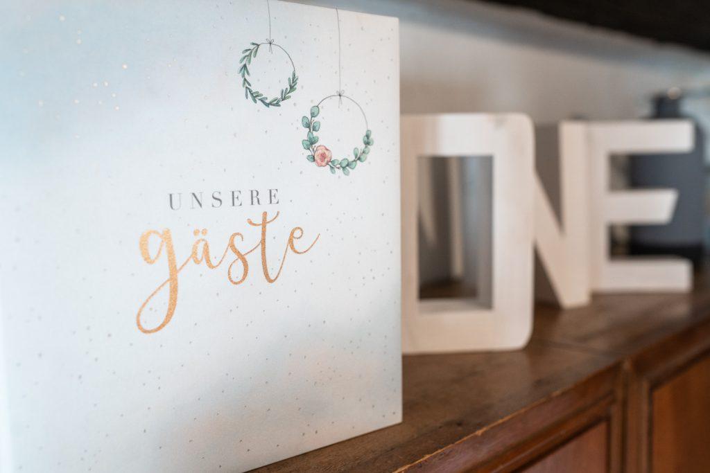 Gästebuch und Accessoires Fotostudio Bremen