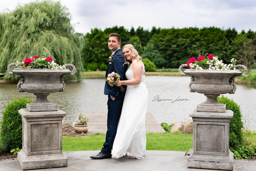 Hochzeitsfotos am See bei standesamtlicher Hochzeit