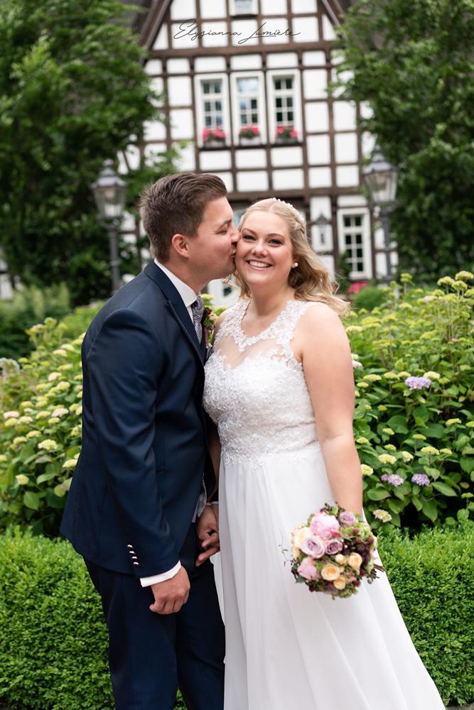 Paarshooting Hochzeitsfotos in Visbek Oldenburg