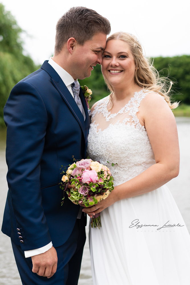Paarportraits bei der Hochzeit