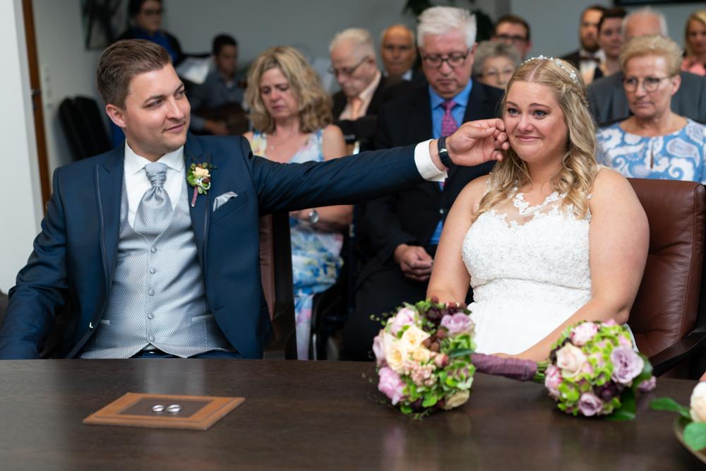 Freudentränen bei der Hochzeit Hochzeitsreportage