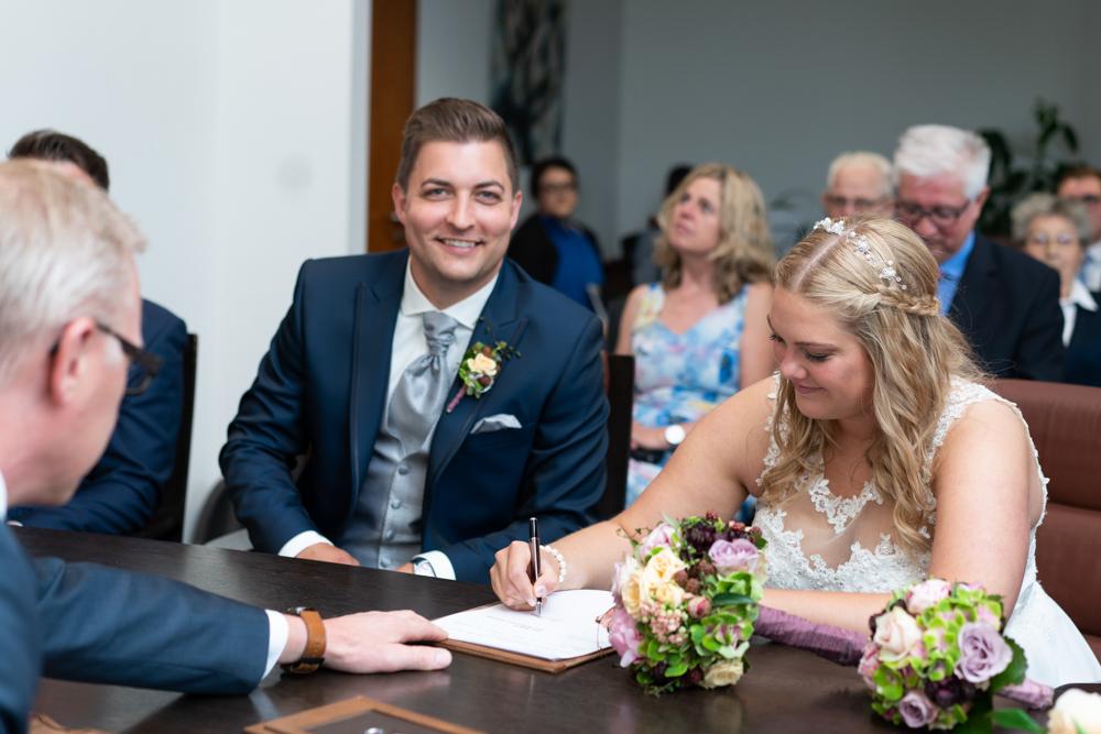 Hochzeit in Visbek Das Jawort
