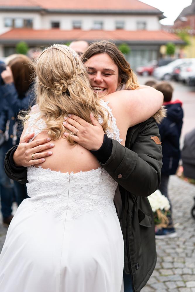 Hochzeitsreportage Visbek Gratulationen