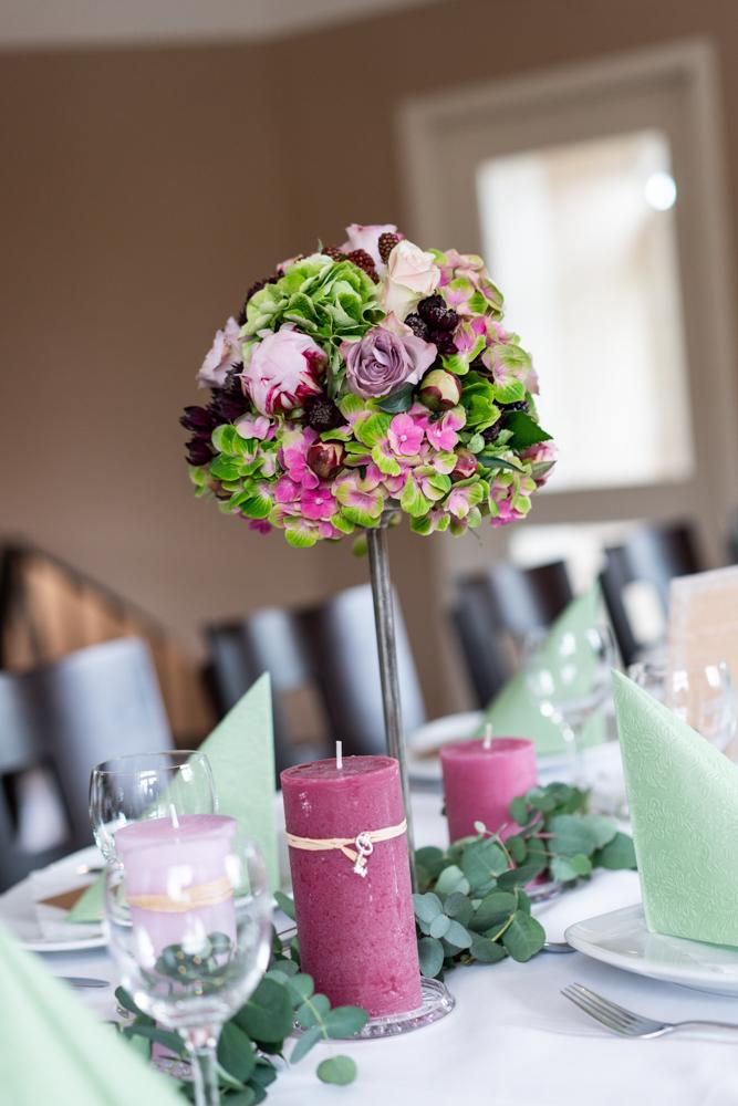 Bluemendekoration Hochzeitsfotograf Visbek