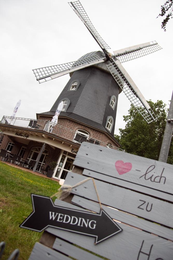 Borgerdings Mühle als Feierlocation für die Hochzeit