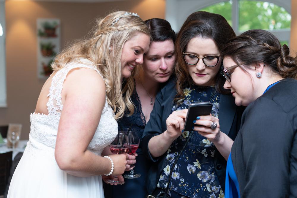 Momente während einer Reportage Hochzeitsfotogarfie