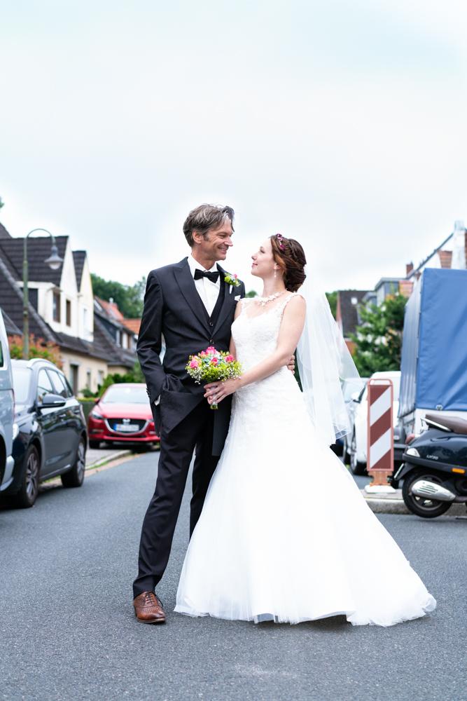 Hochzeitsfotos urban Stadtleben Hochzeitsfotograf Bremen City