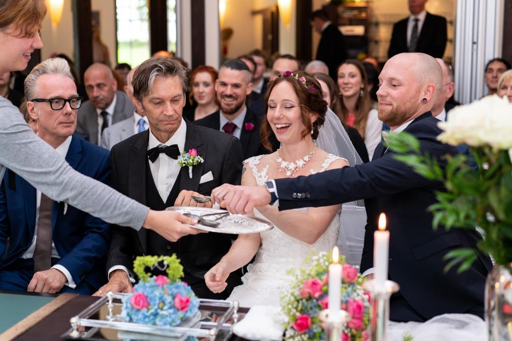 Traditionen bei der Trauung - Standesamtliche Hochzeit mit exklusivem Flair