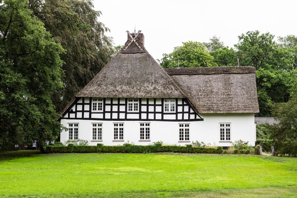 Lür Kropp Hof Aussenansicht - Hochzeitsfotograf Oldenburg Bremen