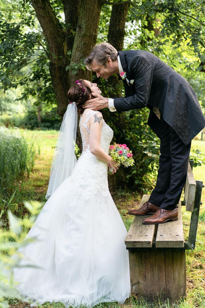 Hochzeitsfotos im Park - Hochzeitsfotografie Bremen