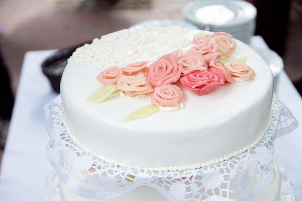 Hochzeitstorte im Detail - Hochzeitsfotos vom Hochzeitsfotografen