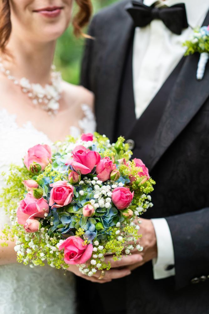 Brautstraußfoto - Standesamtliche Trauung im Lür-Kropp-Hof Bremen