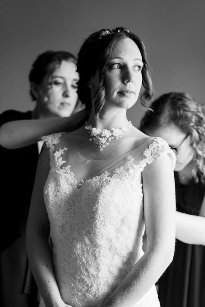 Getting Ready der Hochzeitsreportage vom professionellem Hochzeitsfotografen in Bremen