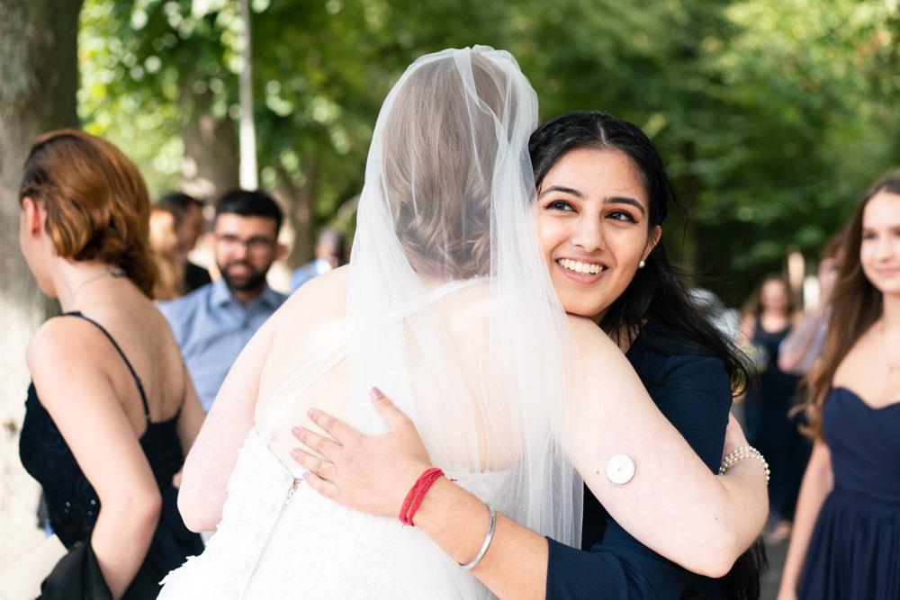 Hochzeitsfotografie Bremen kirchliche Hochzeit Gratulieren