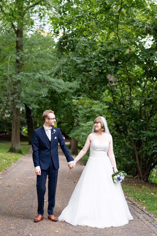 Hochzeitsfotograf Bremen Paarshooting in den Wallanlagen I Elysianna Lumiere Photography