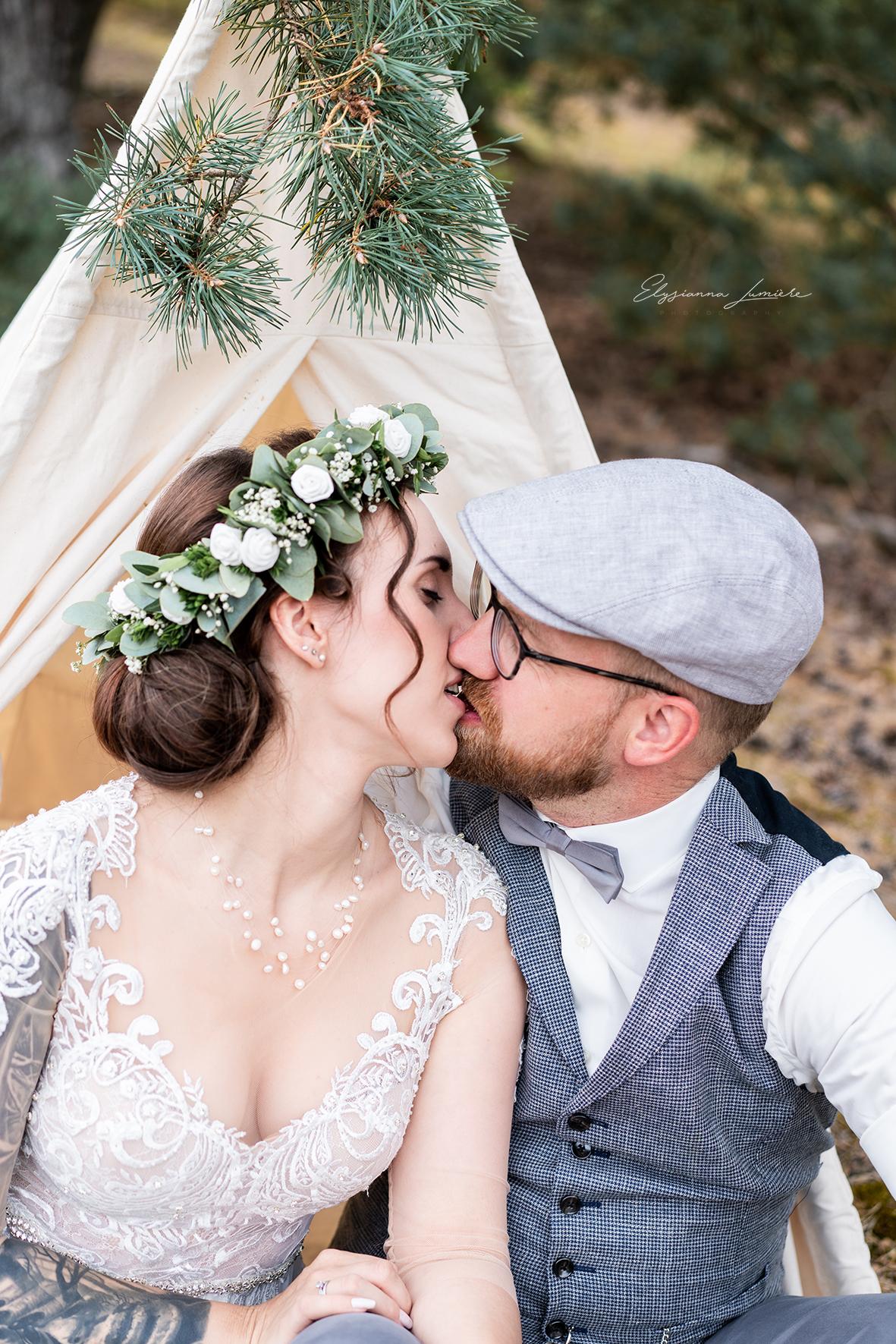 Hochzeitsfotograf Verden Paarshooting in den Dünen