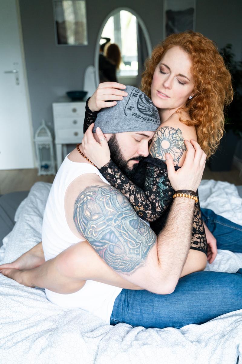 Coupleshooting als Homestory in Bremen Fotograf Lilienthal Verden