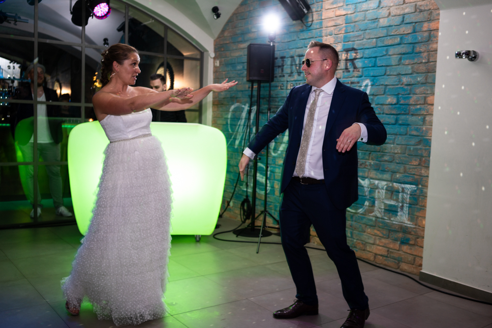 Eröffnungstanz des Brautpaares Hochzeitsfotograf Bremen buchen