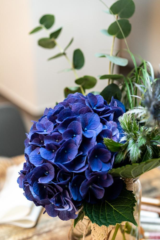 Blumendekoration Hochzeit Blau Hochzeitsfotografin Bremen