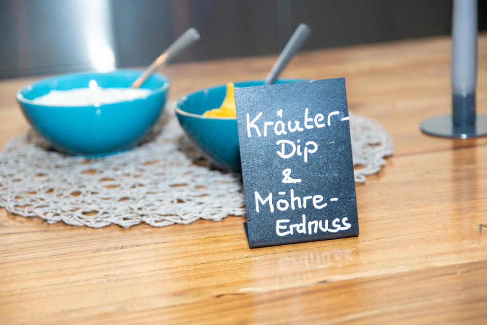 Dips am Buffet Hochzeitsfeier in Bremen