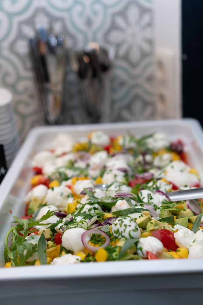 Salatbuffet Hochzeitsfotograf Bremen Schnoor Eleven