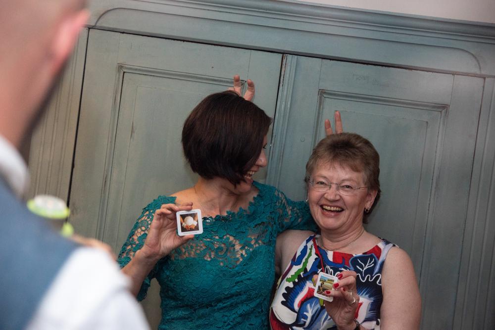 Polaroid Fotobox Hochzeitsfotografin Bremen Partyfotos