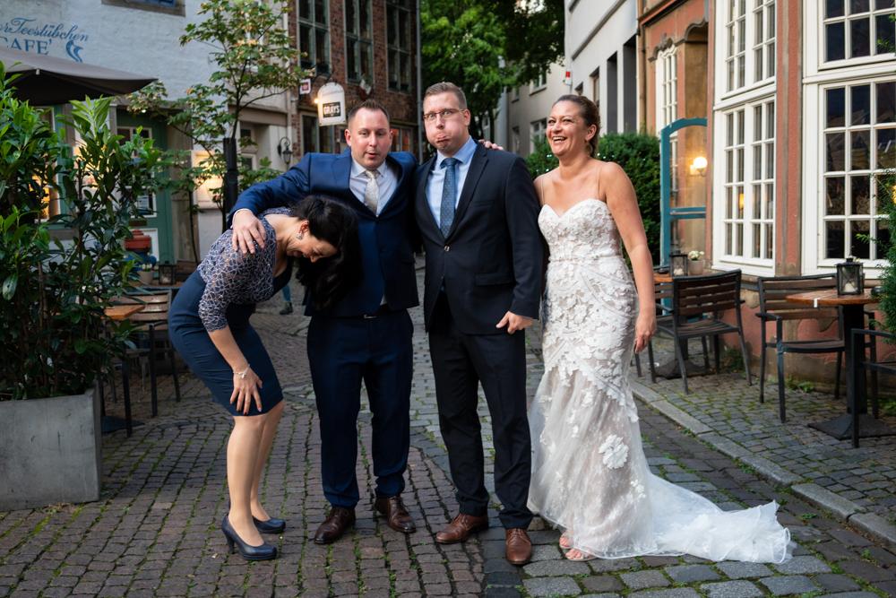 Fotograf Standesamt Gruppenbilder Bremen Hochzeitsfotografin