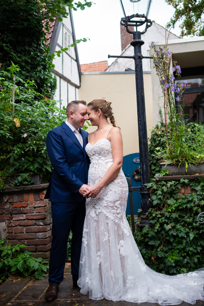 Hochzeitsfotografin in Bremen Hochzeit im Schnoorviertel Bremen
