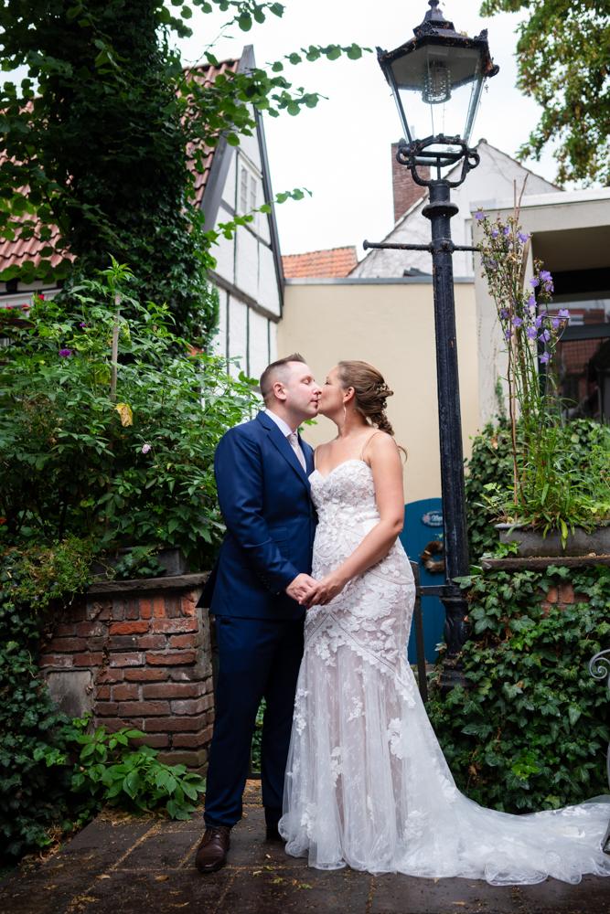 Hochzeitsfotos im Schnoor Eleven Fotografin Bremen