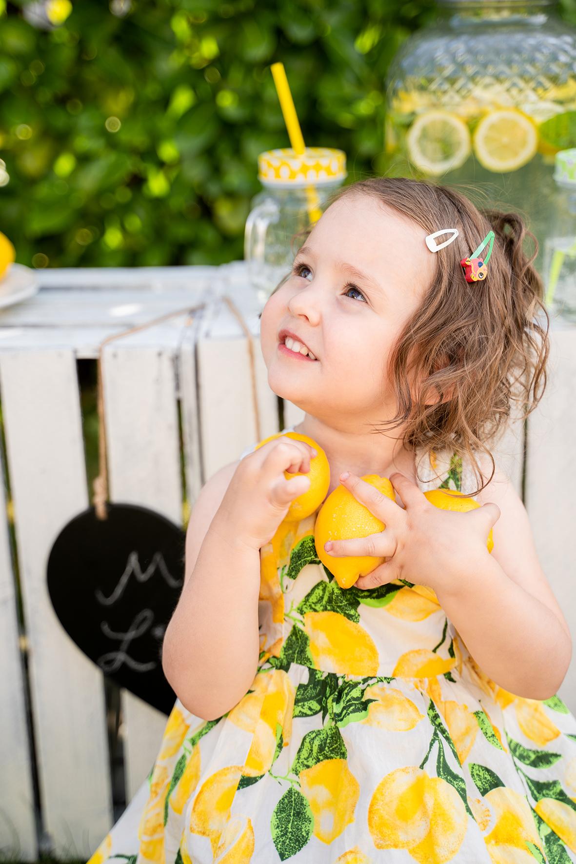 Zitronensammlerin Fotoshooting Limonade Bremen Fotostudio Lilienthal Osterholz Scharmbeck