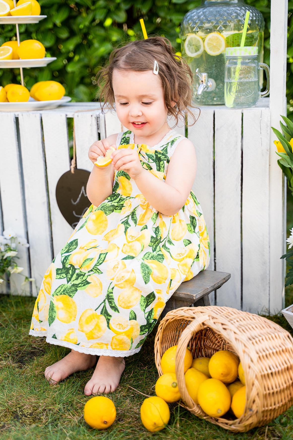 Zitronen Fotoshooting in Lilienthal Gartenshooting