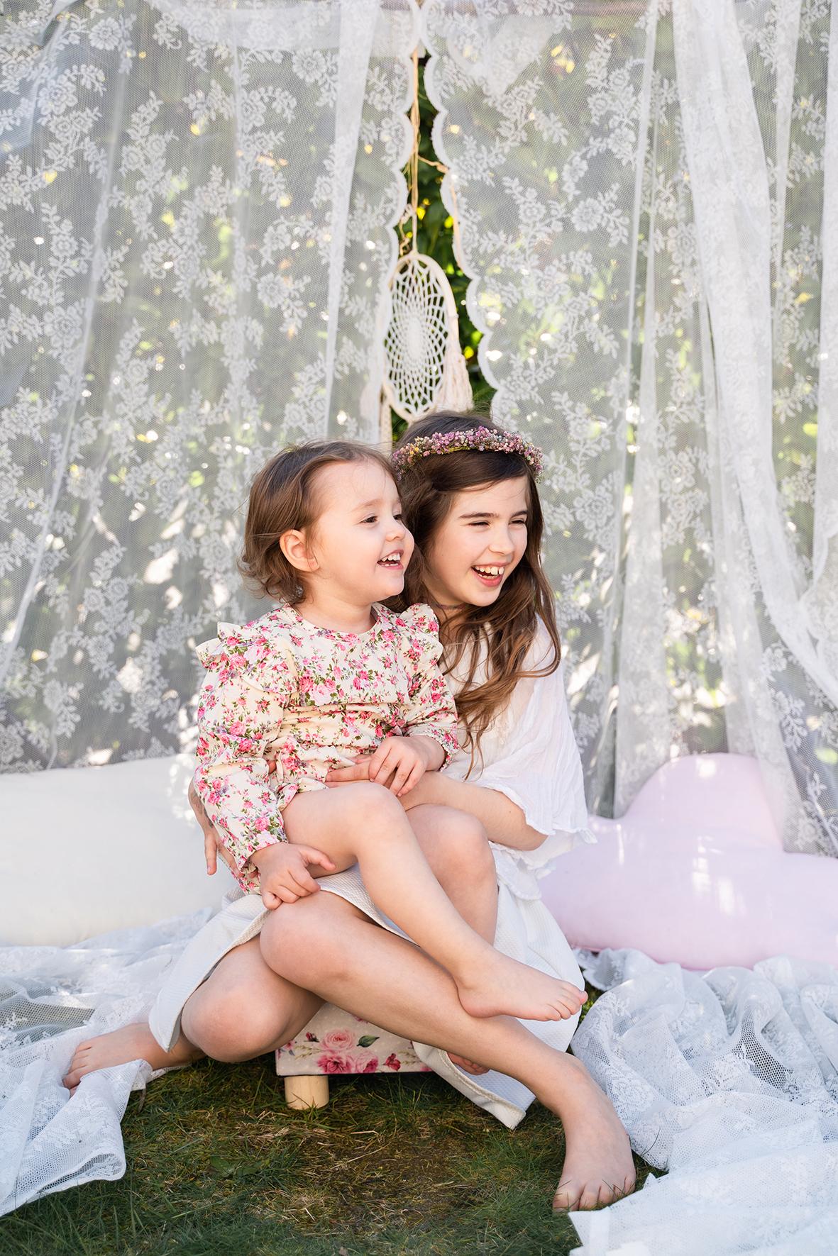 Kindershooting Geschwisterfotos Fotografin OHZ Familienfotograf Bremen