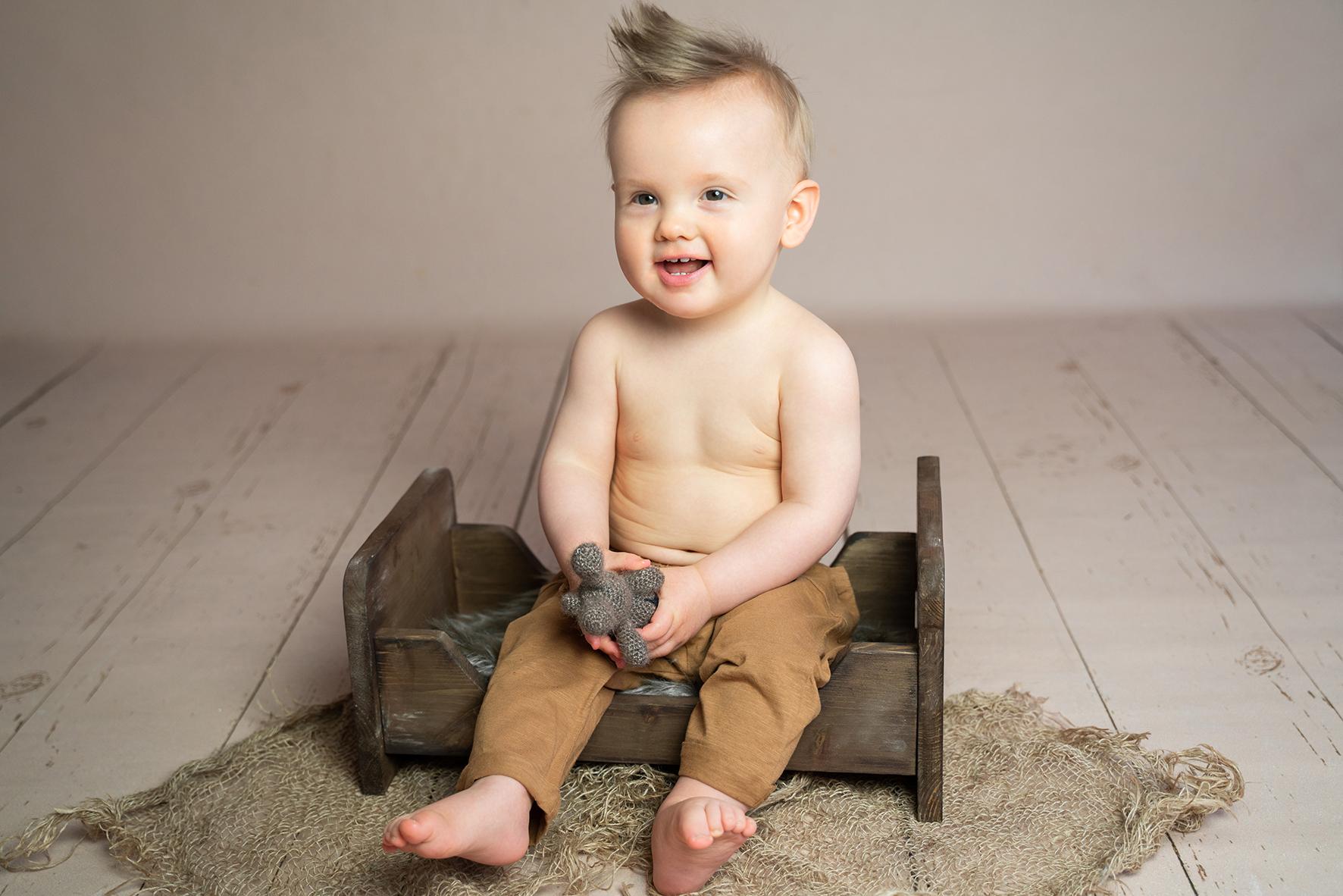 Babyfotograf in Bremen und Oldenburg Fotoshooting mit der Familie im Fotostudio