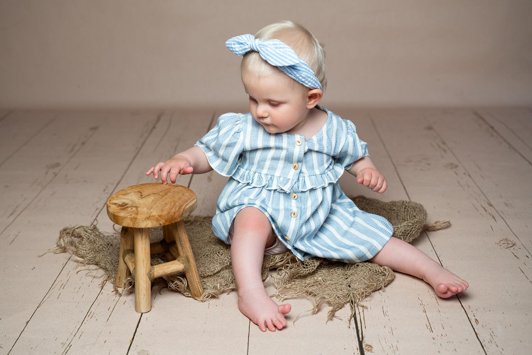 Maritimes Fotoshooting für Babys Familienfotograf Bremen
