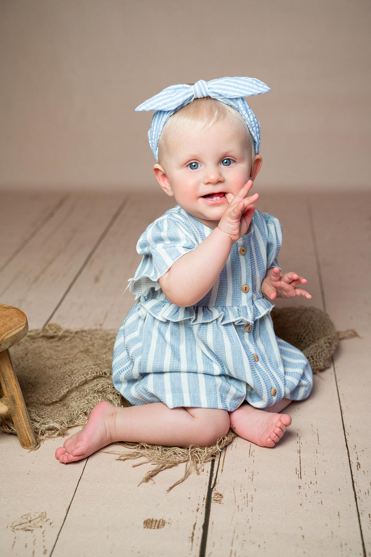 Fotograf Weyhe Fotostudio Bremen für Babyfotoshooting mit maritimem Flair