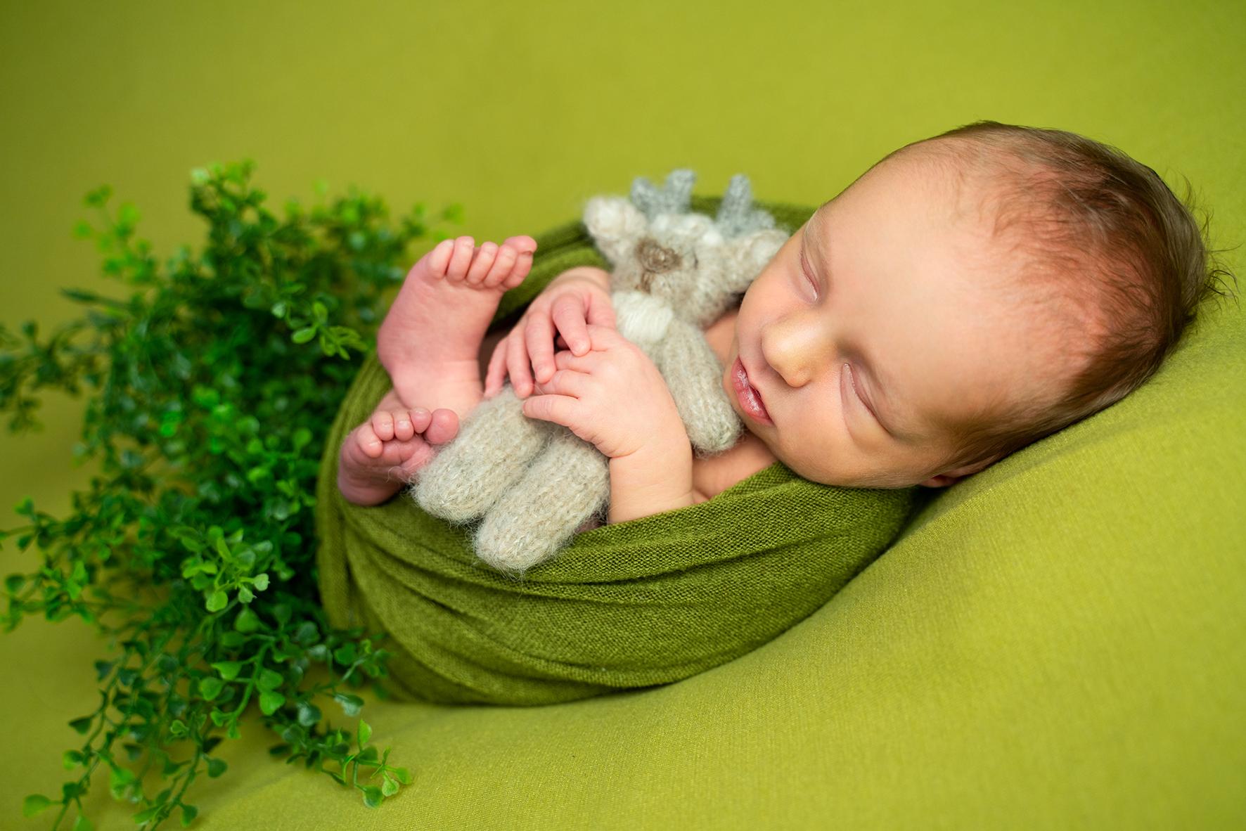 Fotografin in Bremen für Neugeborenenbilder Babyfotos Besondere Sets
