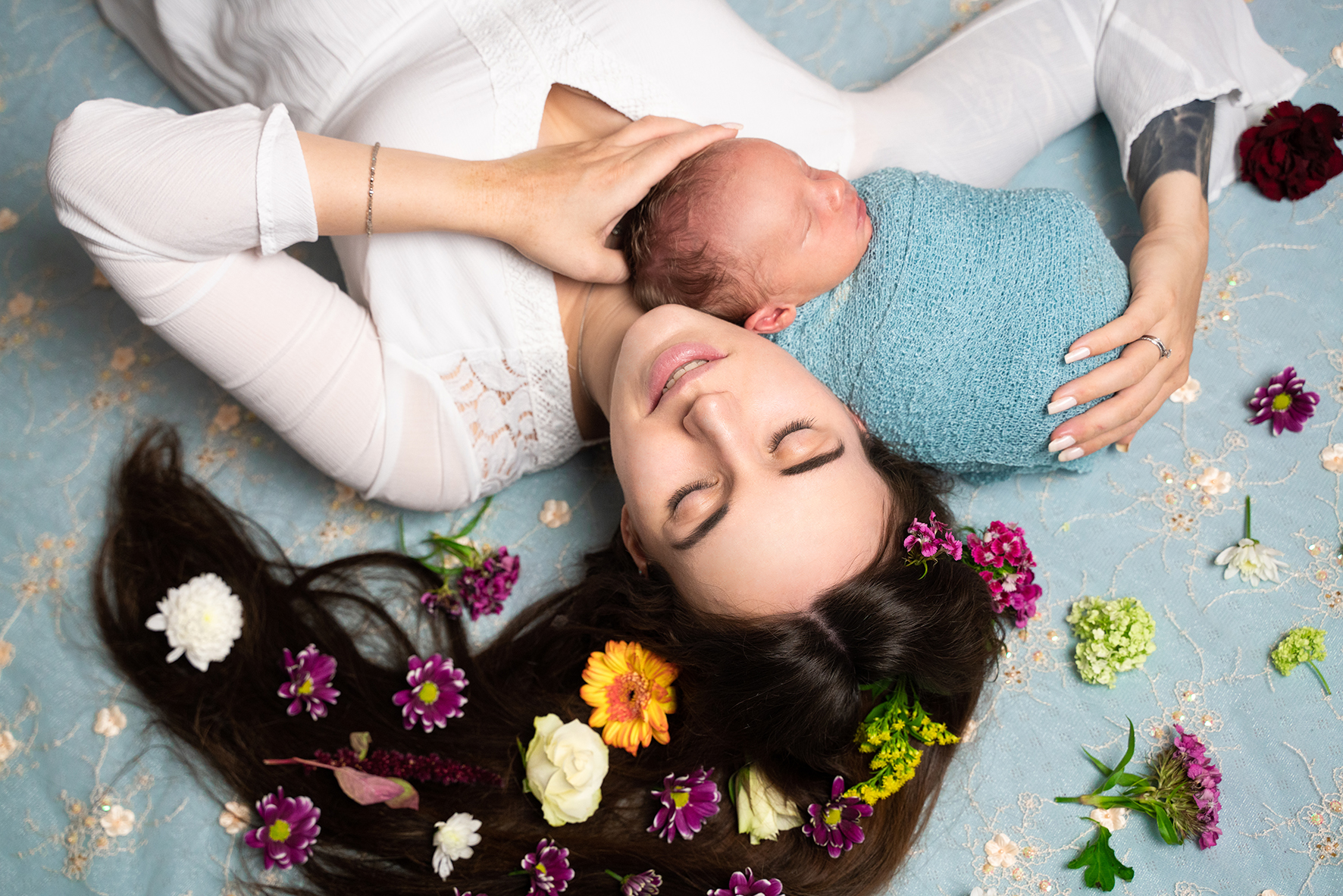 Familienfotos Mama und Baby Babyfotograf Bremen Oldenburg