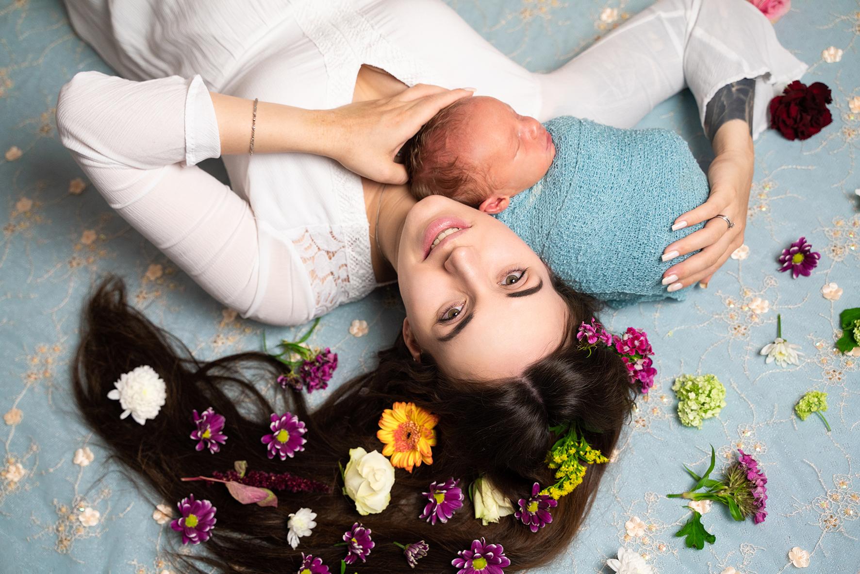 Newbornshooting Bremen Fotograf Osterholz-Scharmbeck Lilienthal Weyhe