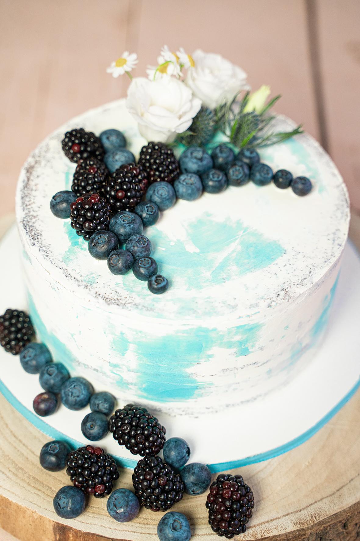 Detailfoto der Cakesmashtorte von Manufaktur Edel und süß