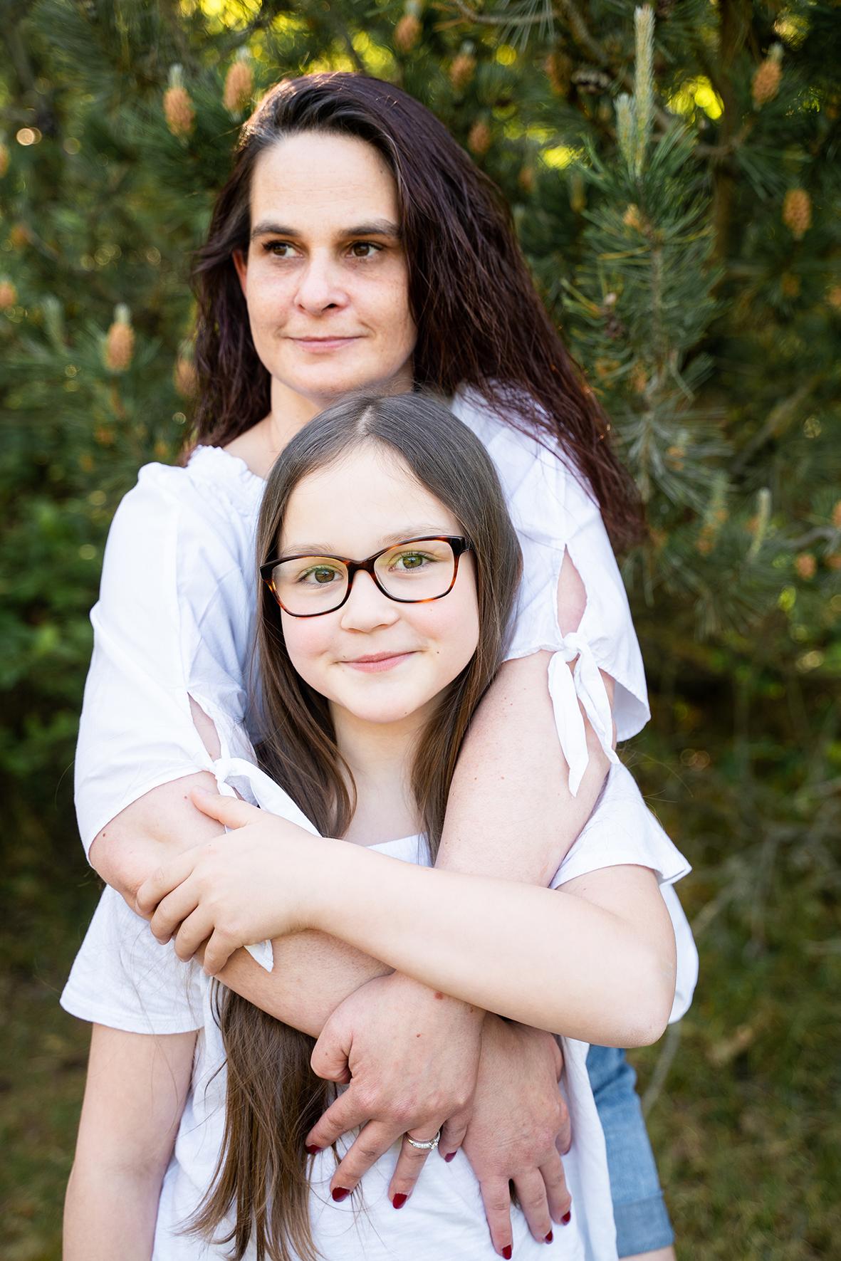 Familienfotos Fotoshooting Fotografin Bremen Umarmung beim Shooting