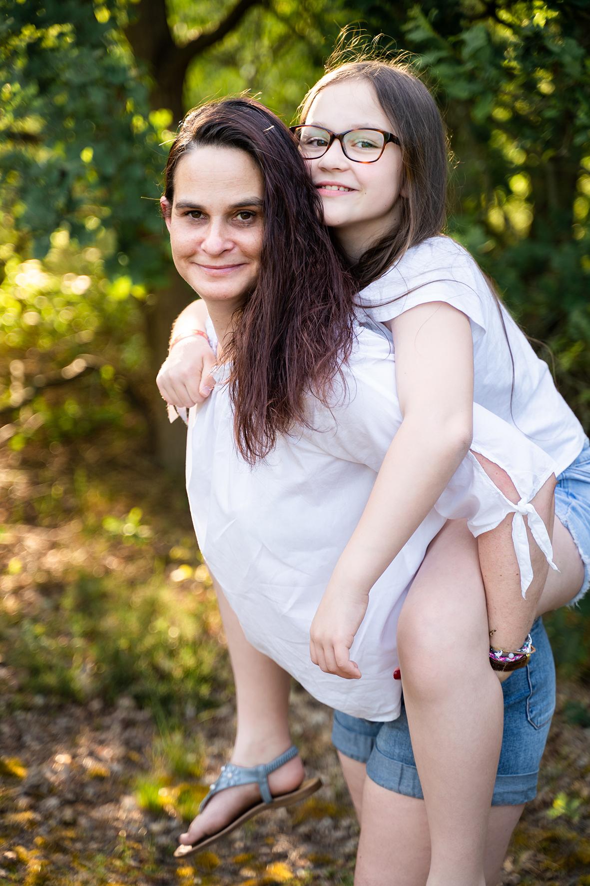 Mutter und Tochter Fotoshooting Bremen
