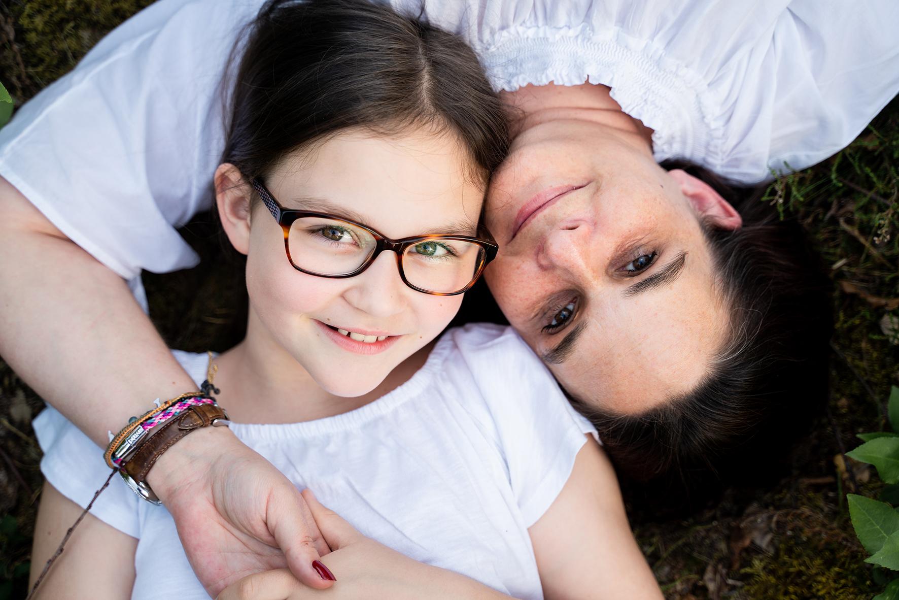 Mutter und Tochter Fotoshooting in Bremen Familienfotos Lilienthal