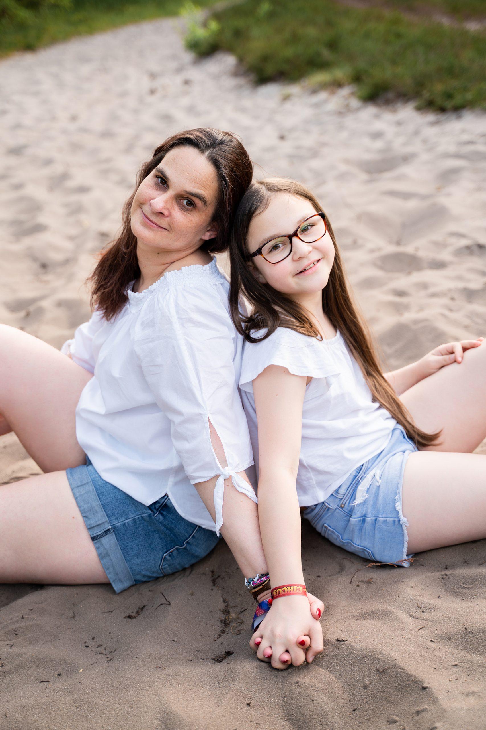 Fotoshooting Mutter und Tochter in Bremen