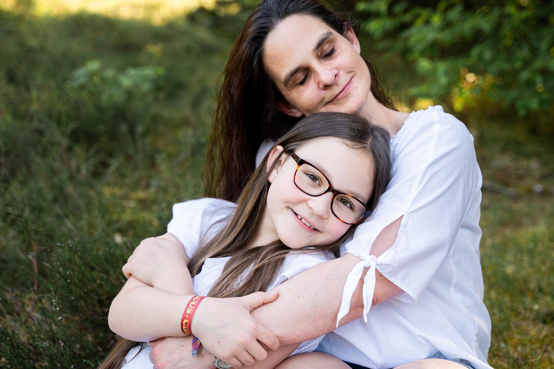 Familienfotos von Mama und Tochter in Bremen Fotograf Ottersberg