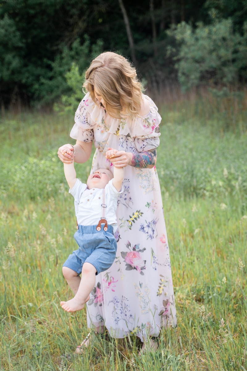 Familienfotos Bremen Fotoshooting mit Kindern