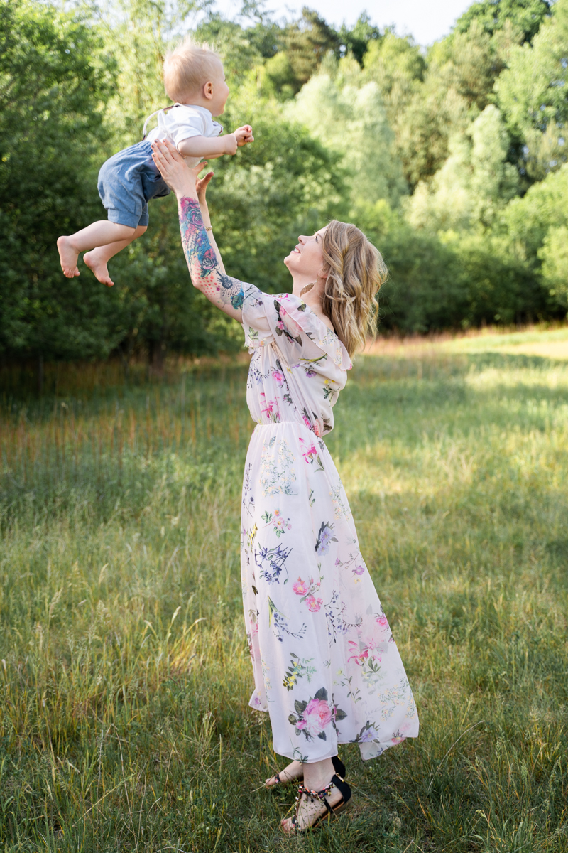 Familienshooting Flieger Babyfotograf Bremen Fotoshooting