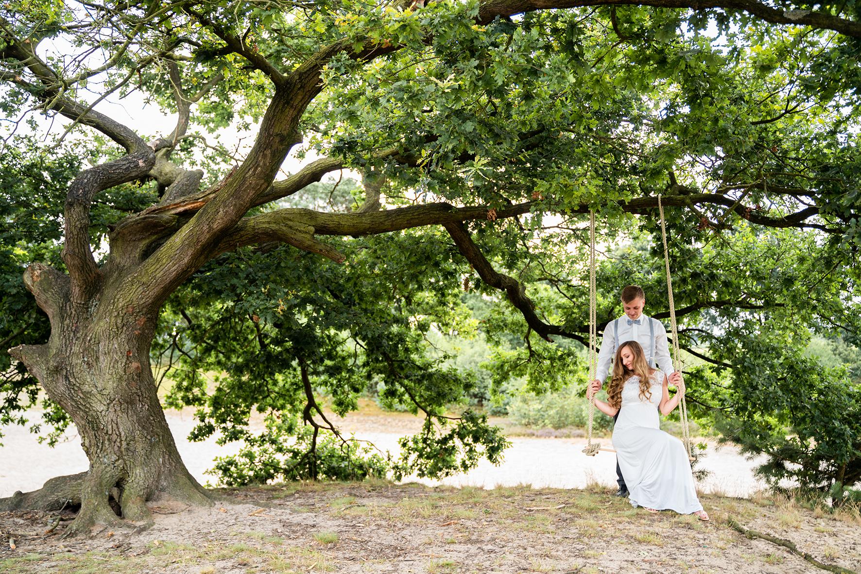 Hochzeitsfotos in der Sanddüne Hochzeitsfotografin Bremen