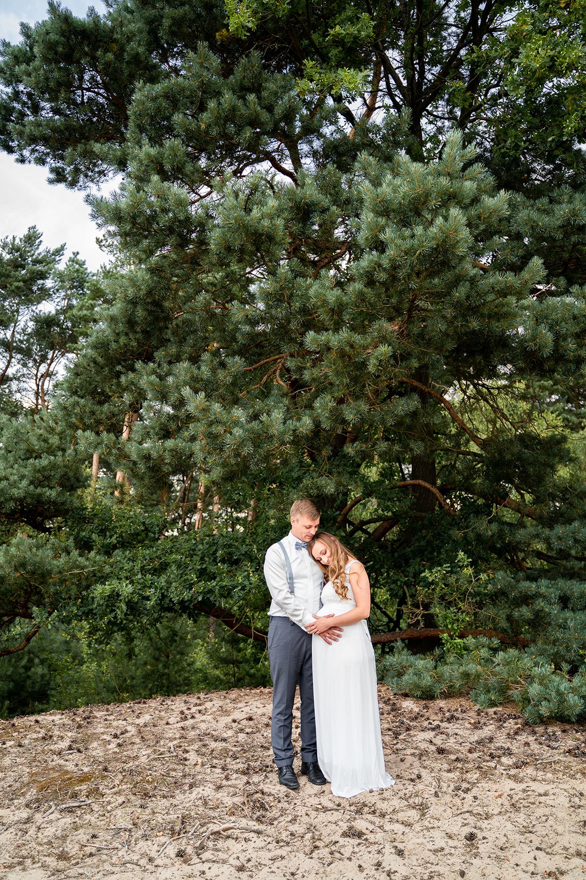 Hochzeitsfotograf After Wedding Shooting in der Sanddüne