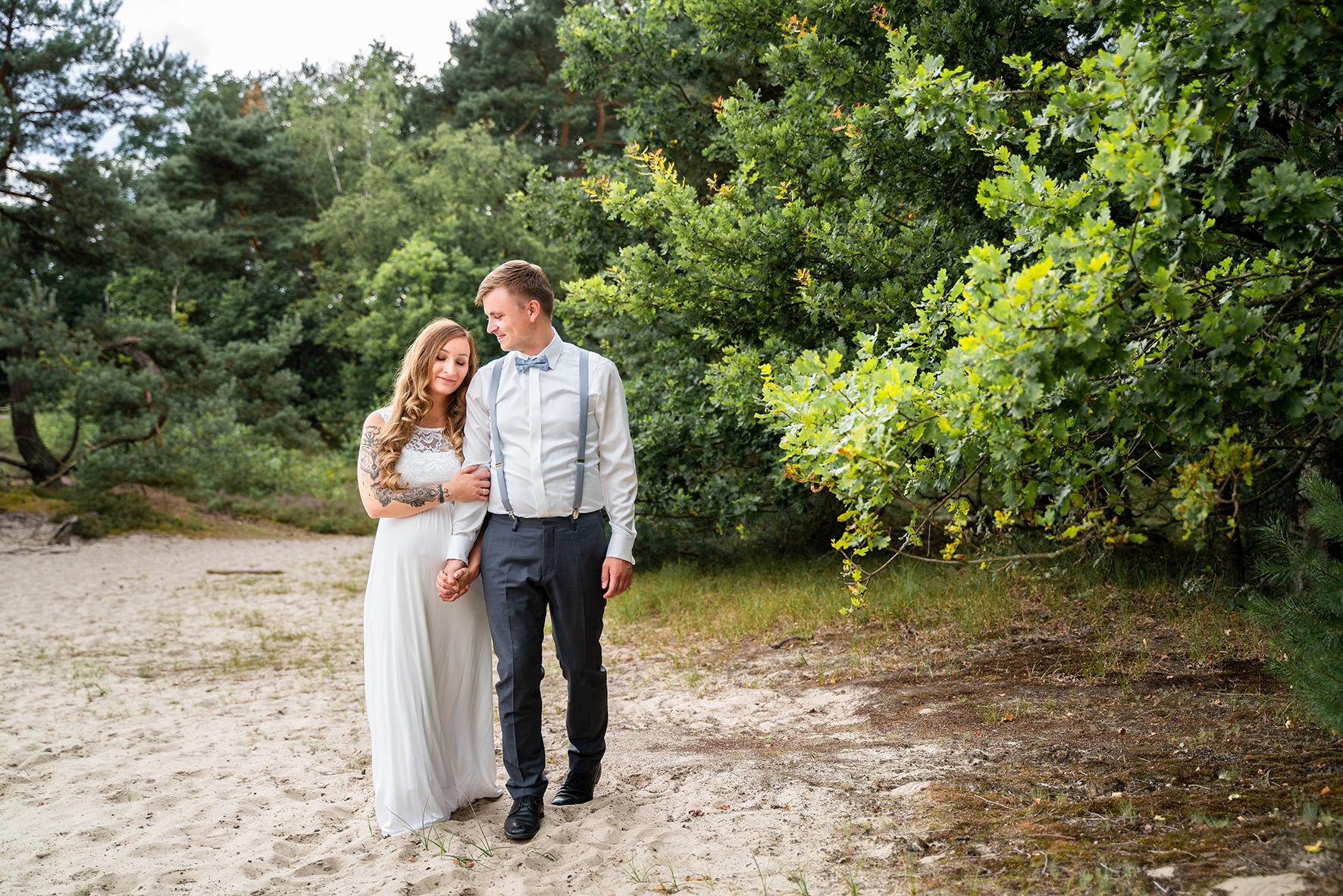 Hochzeitsfotos in der Sanddüne Hochzeitsfotograf Bremen